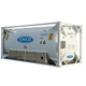 Chemical transport ISO tank container