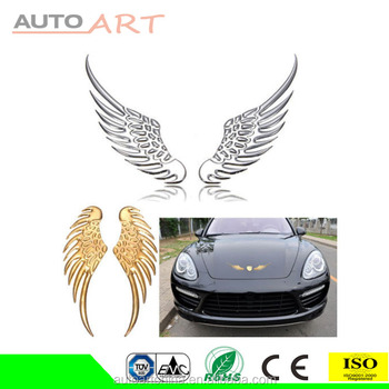Hot 3D Metal Angel Hawk Wings Emblem Car Decal Decor Sticker
