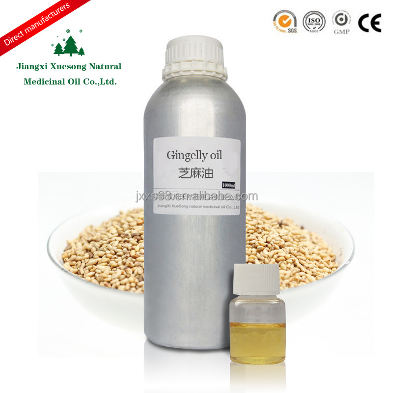 China high quality sesame oil of carrier oil Refined Pure Gingelly Oil