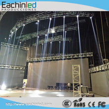 Alibaba Express Turkey Outdoor Stage Rental Aluminum Cabinet P4.81 LED Display