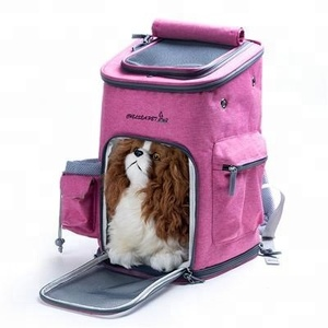 free sample Comfort collapsible small puppy cat dog backpack carrier for travel