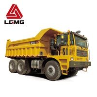 LGMG MT60 23000kg long distance transportation mining truck