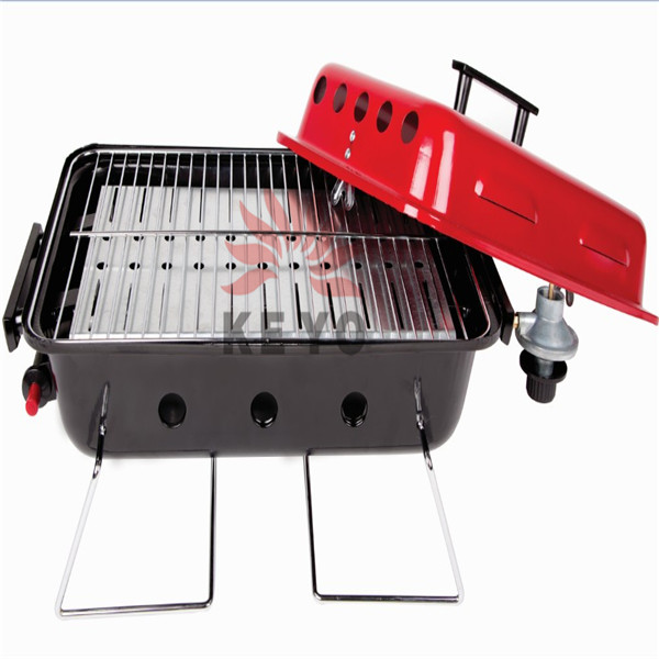 Mini Grill Portable Camp Bbq Grills With Propane Gas Burner YH1804R