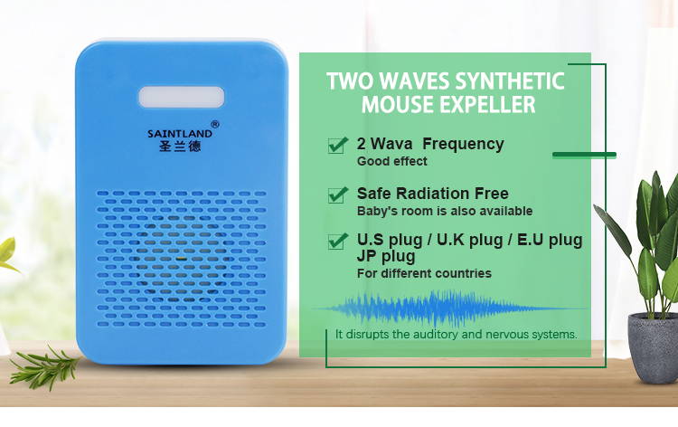 Haute Efficacité Énergétique Ultrasonique Anti-Moustique Électronique Dispositif Antiparasitaire