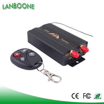 TK103B+ GPS Vehicle Car tracker GPS103B+ SMS tracking on cellphone with google maps link