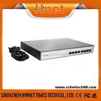 Best 10/100/1000 Gigabit Network 8 Ports POE Switch For CCTV IP Camera