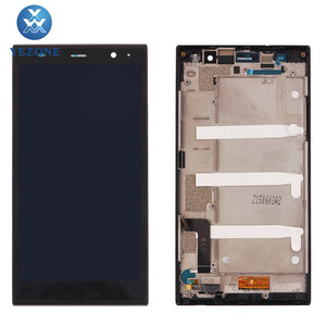 Full LCD Digitizer Touch Screen for ZTE Grand X Max+ Z987 LCD With Frame Assembly
