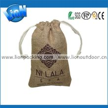 Top quality hot sale table tennis ball hessian jute bag