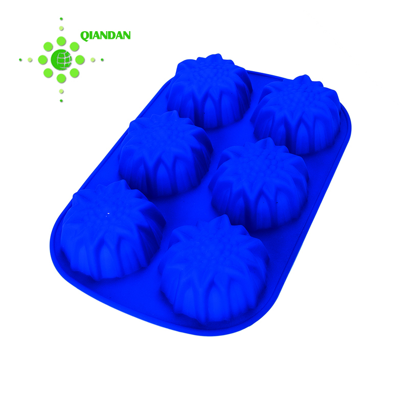 Blue jelly cake mould pop silicone molds for baking