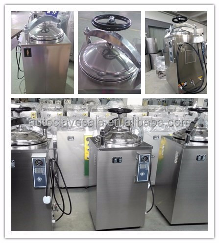 Bluestone Fully Stainless Steel Stricture 100L Vertical Autoclave