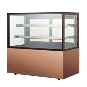 100L To 510L Commercial Glass Countertop Showcase Cooer Fridge Refrigerator Cake Display Counters Refrigeration Equipment