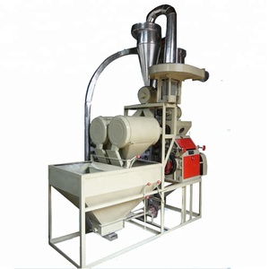Home use 500kg per hour small rice wheat flour mill milling machine price