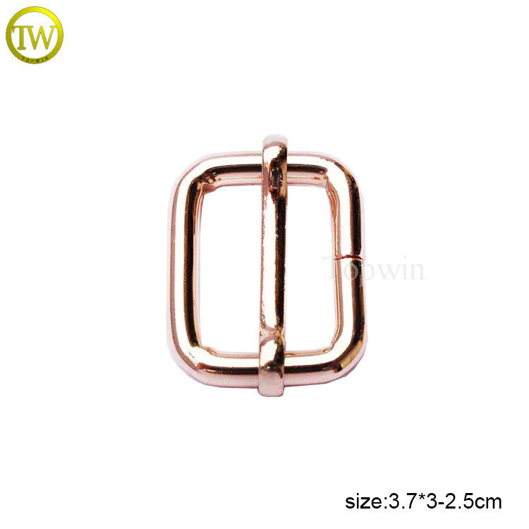Professional made alloy metal bag buckle strap adjustable buckle