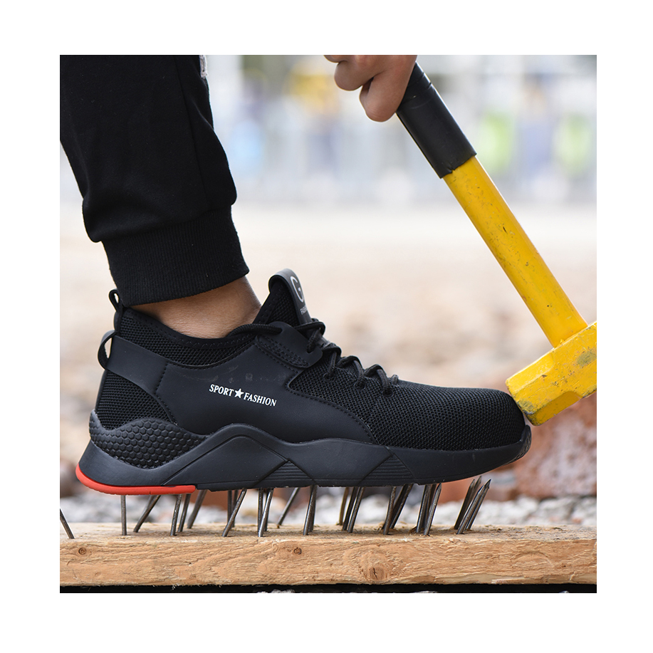 Steel Toe Safety Shoes For Men And