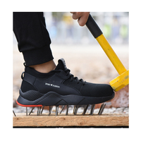 Steel Toe Safety Shoes for Men and Women Lightweight Breathable Industries Construction Work Shoes Slip Resistant
