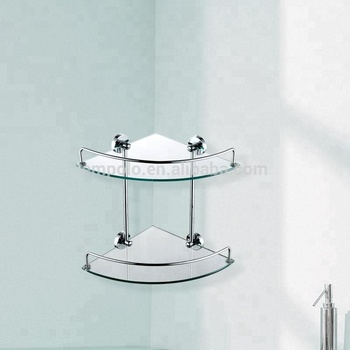 Stainless Steel Gl Bathroom Corner Shelves