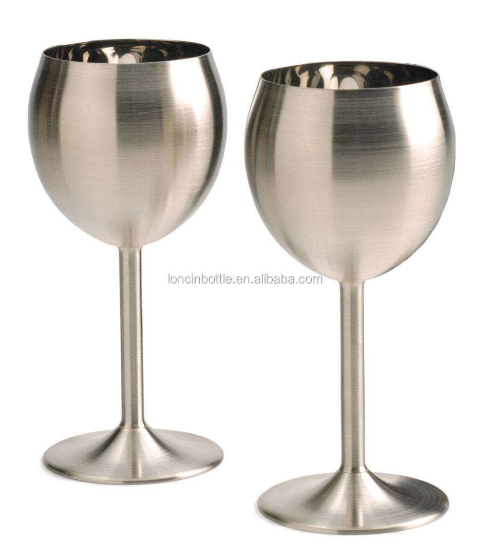 new stainless steel cocktail glasses goblets martini cup. Black Bedroom Furniture Sets. Home Design Ideas
