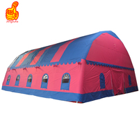 Outdoor party tent house inflatable pub inflatable bar tent for hire