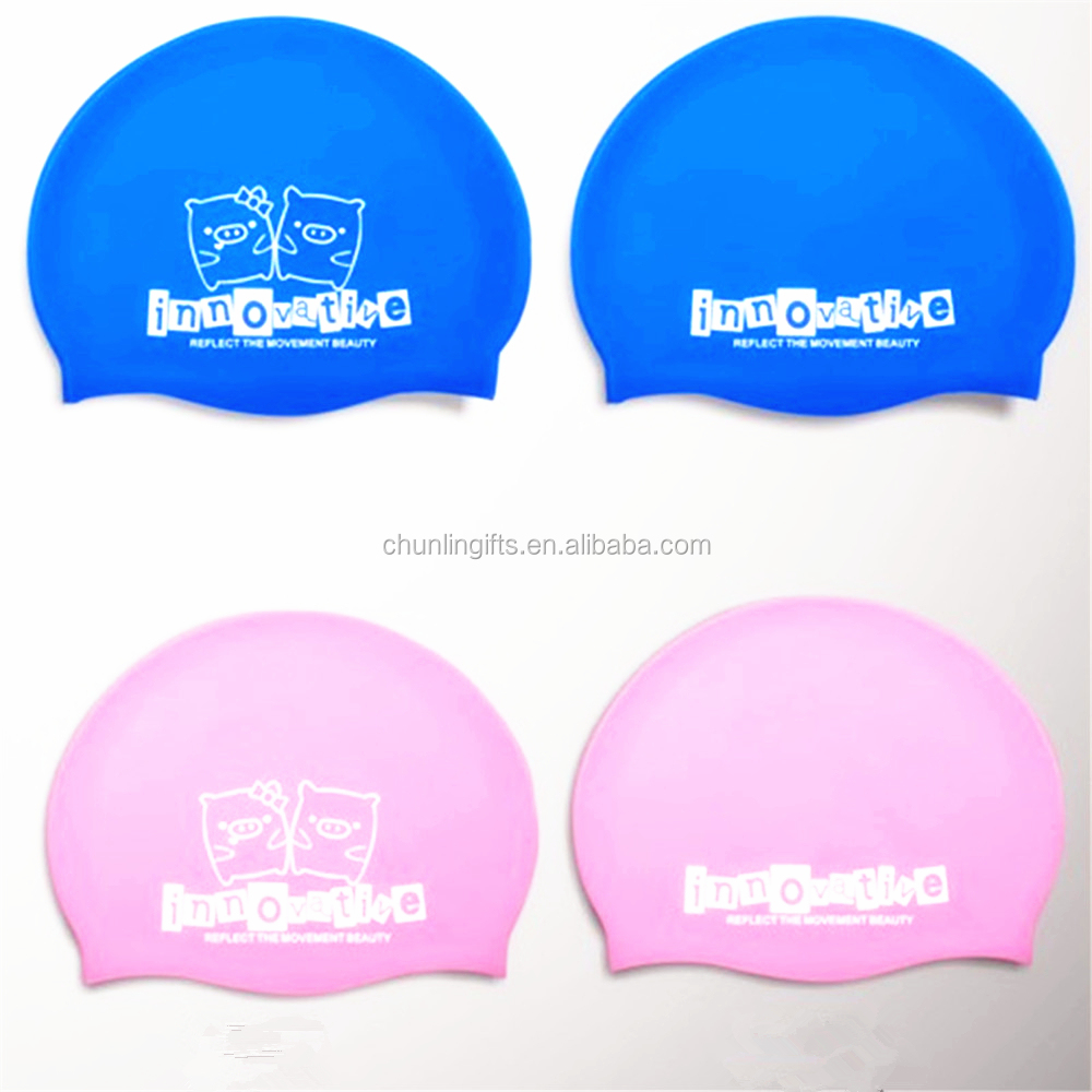 Silicone Del Fumetto Nuoto Caps for Kids