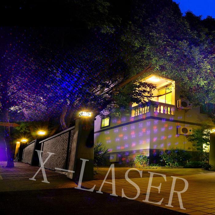 MINI Laser Light/outdoor Laser Lights For Trees/solar Landscape Lighting