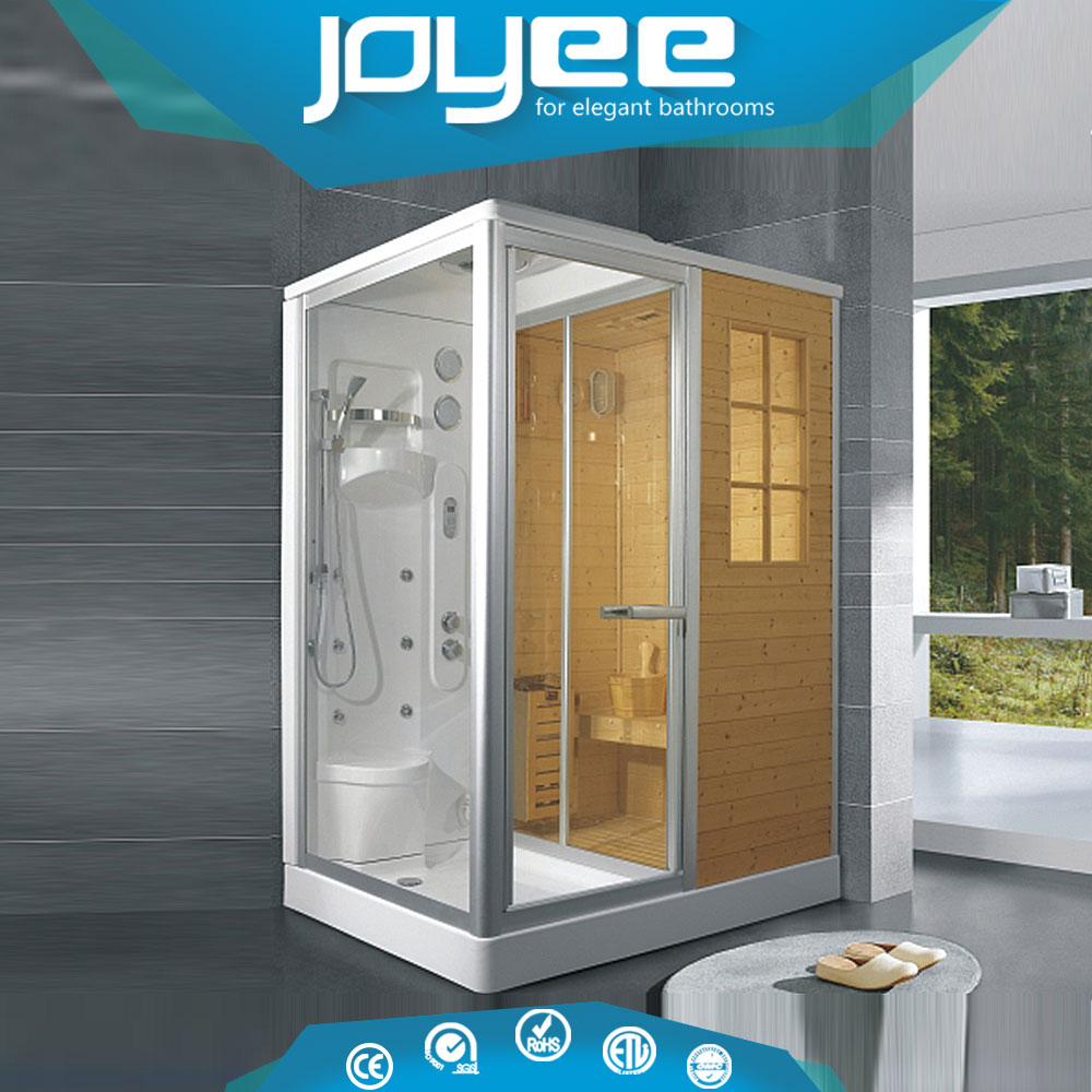 J-F821 cabins garden rooms combo sauna shower combination