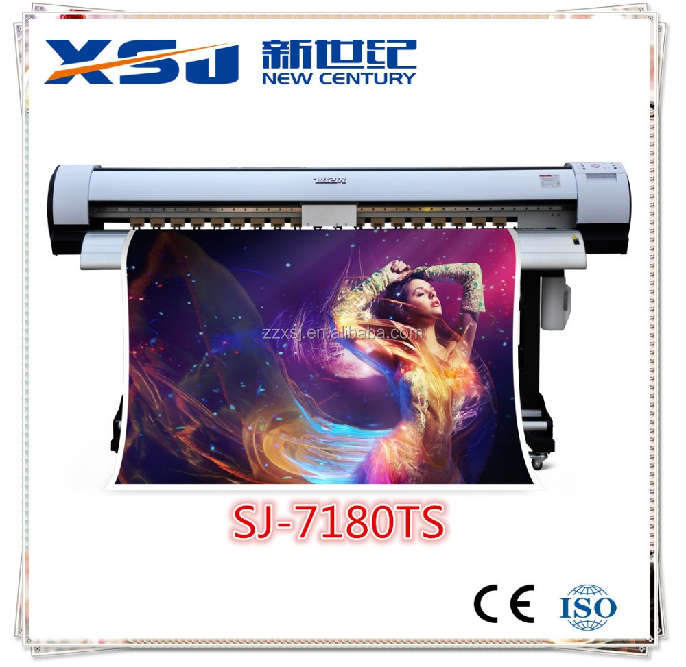 1.6m 1.8m 3.2m stormjet flex banner plotter large format eco solvent printer with epson dx5 print head