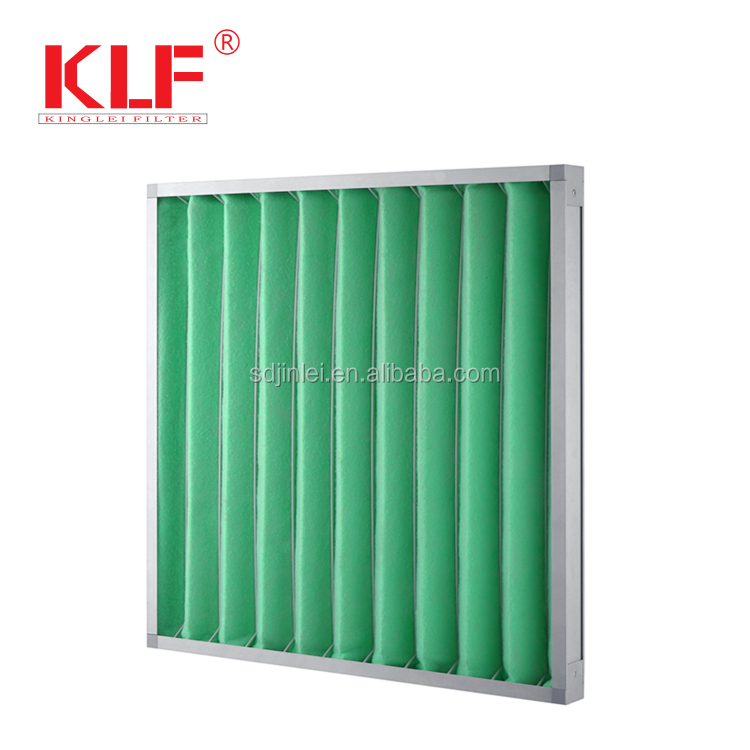 China supply goede kwaliteit geplooide airconditioning purifier filter