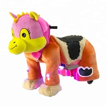 Kid Riding Pluche Paard <span class=keywords><strong>Speelgoed</strong></span> munt kiddie ritten