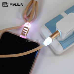 Popular 12v multi-function usb charger cable,charging with night light led usb cable