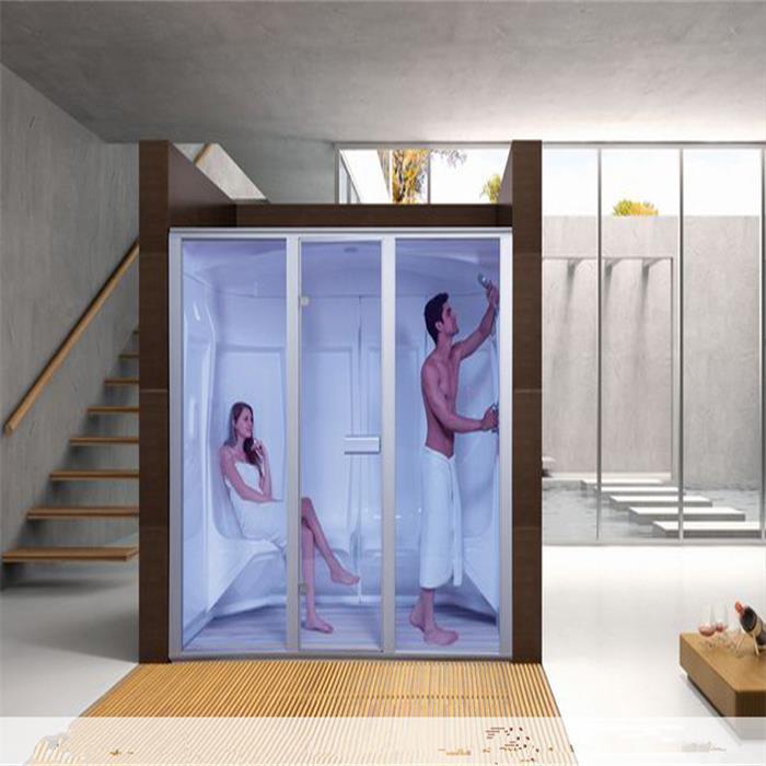 casa mvil sauna cabina de ducha de vapor sauna en espaa