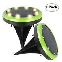 Best Solar Panel LED Underground Light Spotlight Landscape Garden Yard Path Lawn Solar Lamps Outdoor Grounding Sun Light