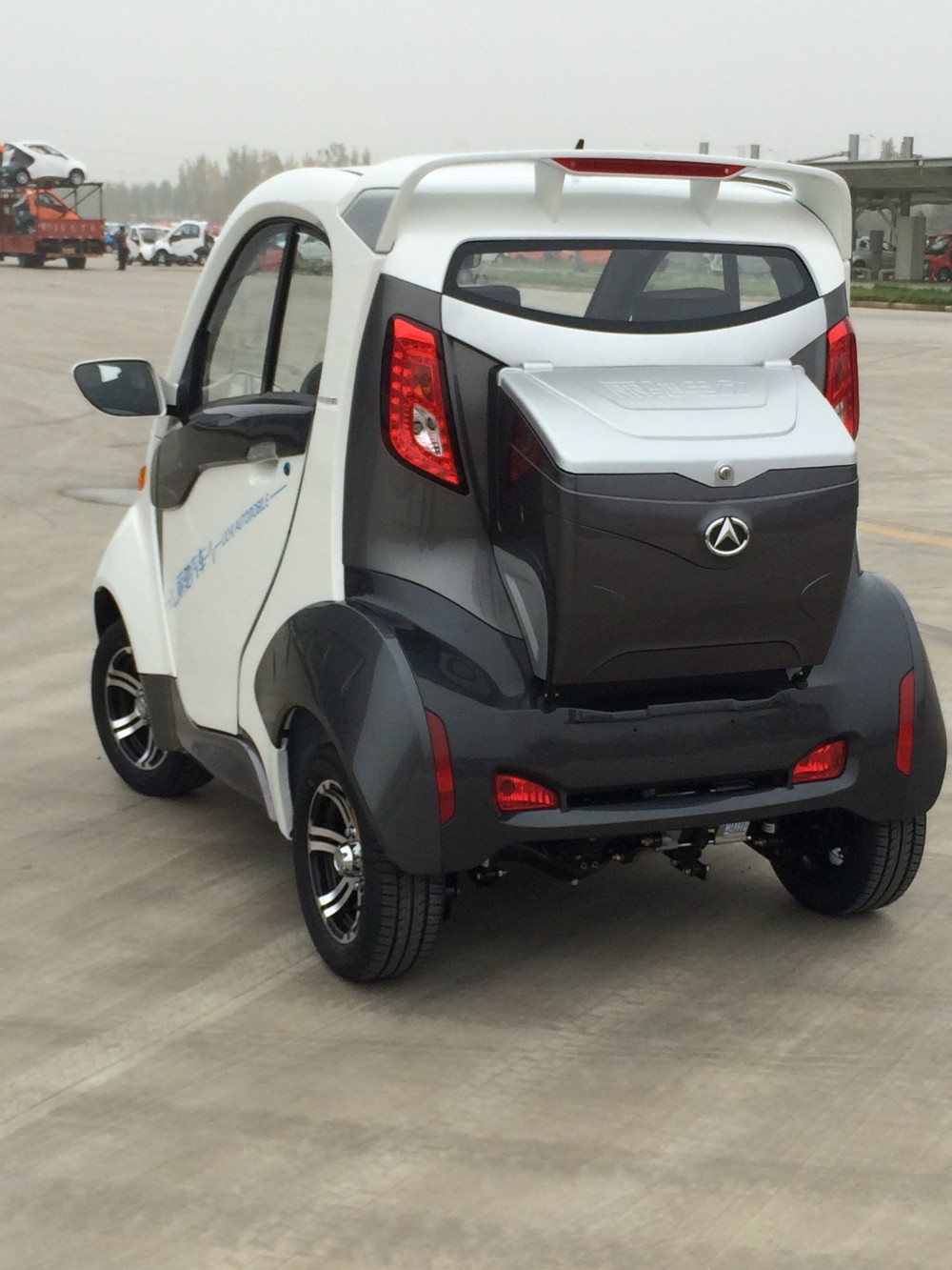 A01 Mini Elektrische Auto Eeg Goedgekeurd Met 2 Zetels Kleine