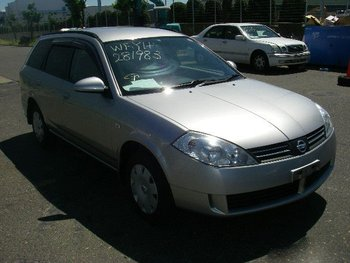 2002 NISSAN Wingroad S /WFY11/ Used Car From Japan (84954)