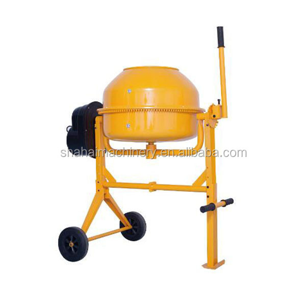 Free shipping electric stainless steel lab portable powder concrete cement mixer