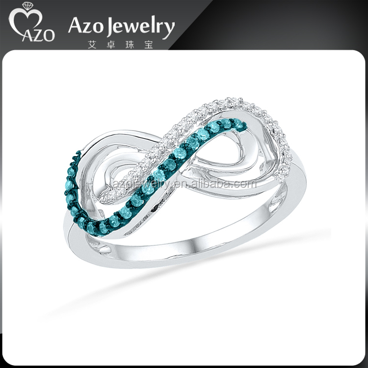 cheap solid 925 sterling silver infinity ring jewelry