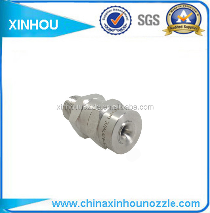 Reliable in service cluster head nozzle