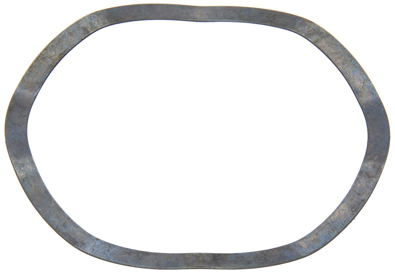 "Compression Type Wave Washer, Carbon Steel, 5 Waves, Inch, 2.913"" ID, 3.307"" OD, 0.02"" Thick, 3.346"" Bearing OD, 420lbs/in Spring Rate, 72.8lbs Load, (Pack of 10)"