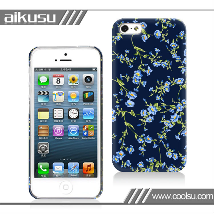 design gel cover for iphone 5 waterproof 3d covers