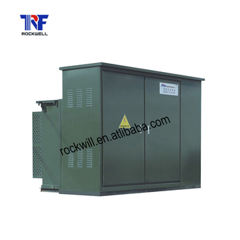 American style pad mounted transformer