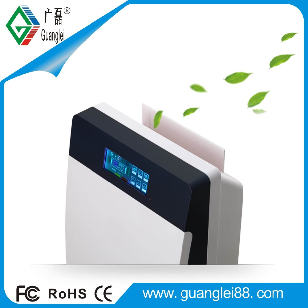 Office uv tio2 air purifier with ozone sterilizers ionizer