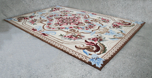Beautiful Hand-tufted 100% Wool Ivory Flower Rug 160x230cm