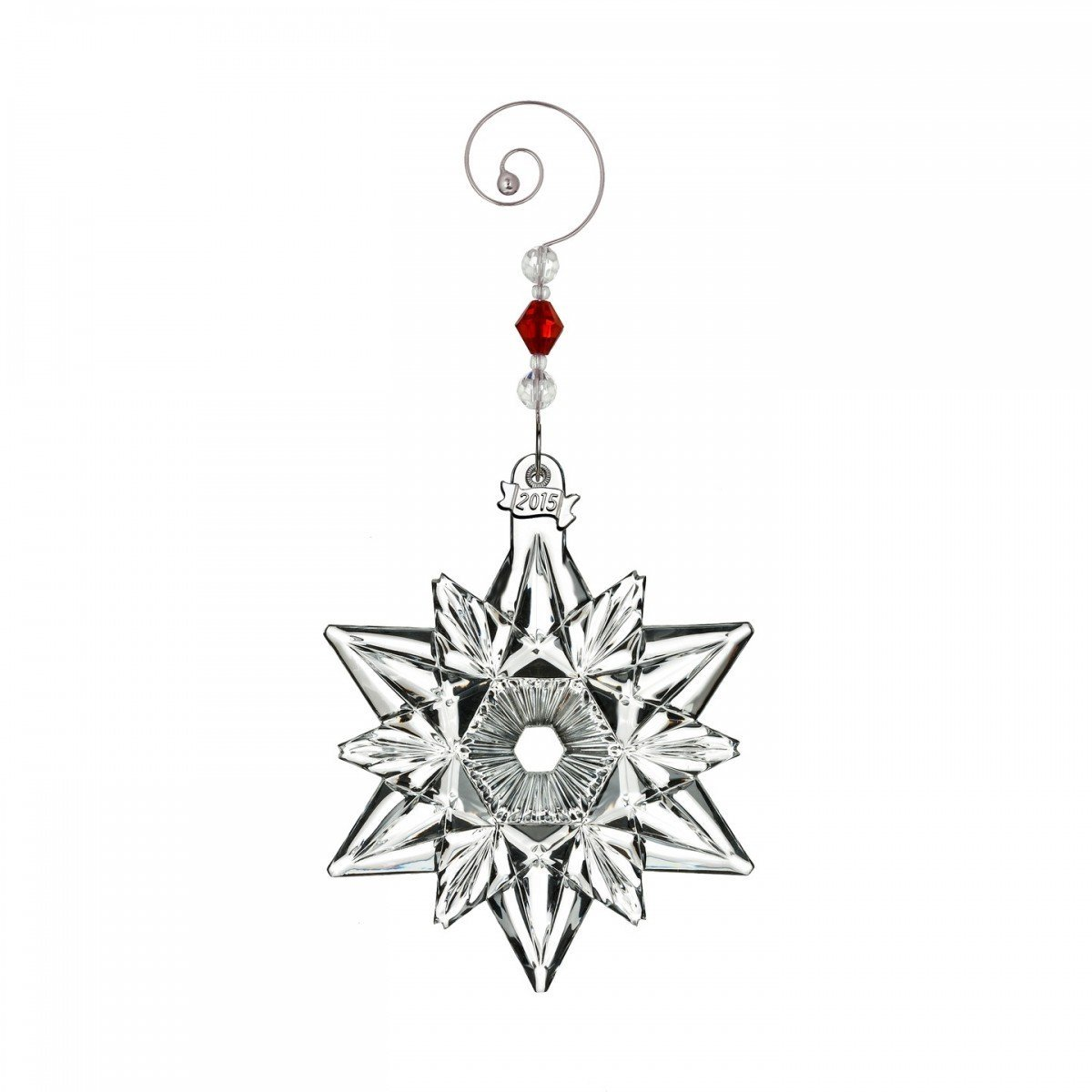 2015 Waterford Annual Snow Crystal Pierced Snowflake Christmas Ornament