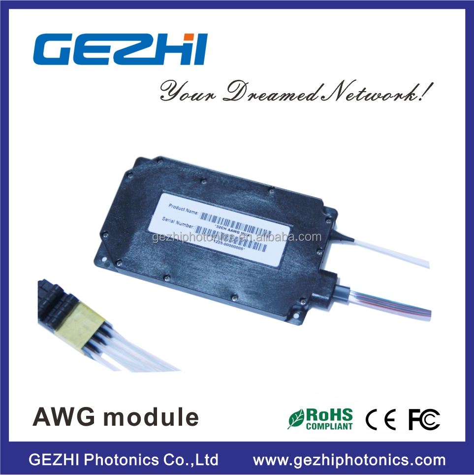 Dual 88-ch 50ghz Flat-top Awg Dwdm Mux Demux With 1% Tap Monitor ...