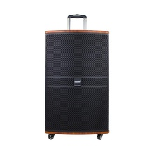 Temeisheng TMS-1530 15 Inch Trolley Dj <span class=keywords><strong>Houten</strong></span> Pa Draagbare Speaker