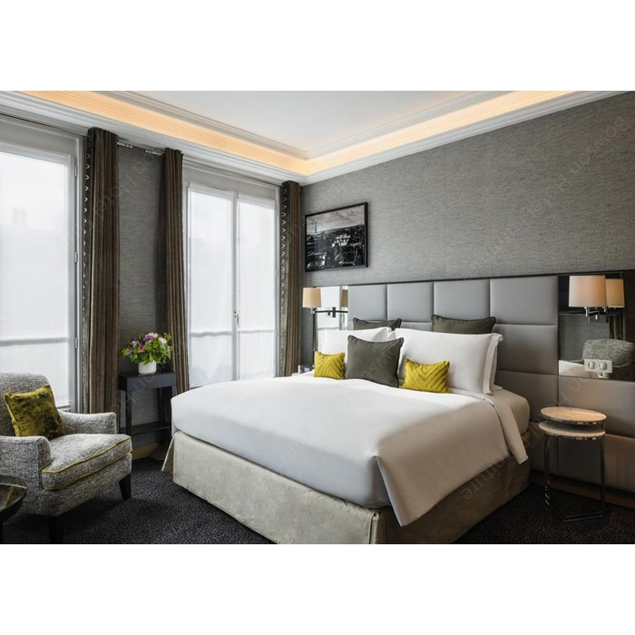 Commercial Used Modern Light Graycolor Hotel Bedroom ...