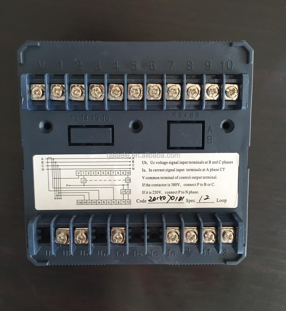 Jkw5c Power Factor Relay 380v 220v 6 Step 12 Buy Common Terminal