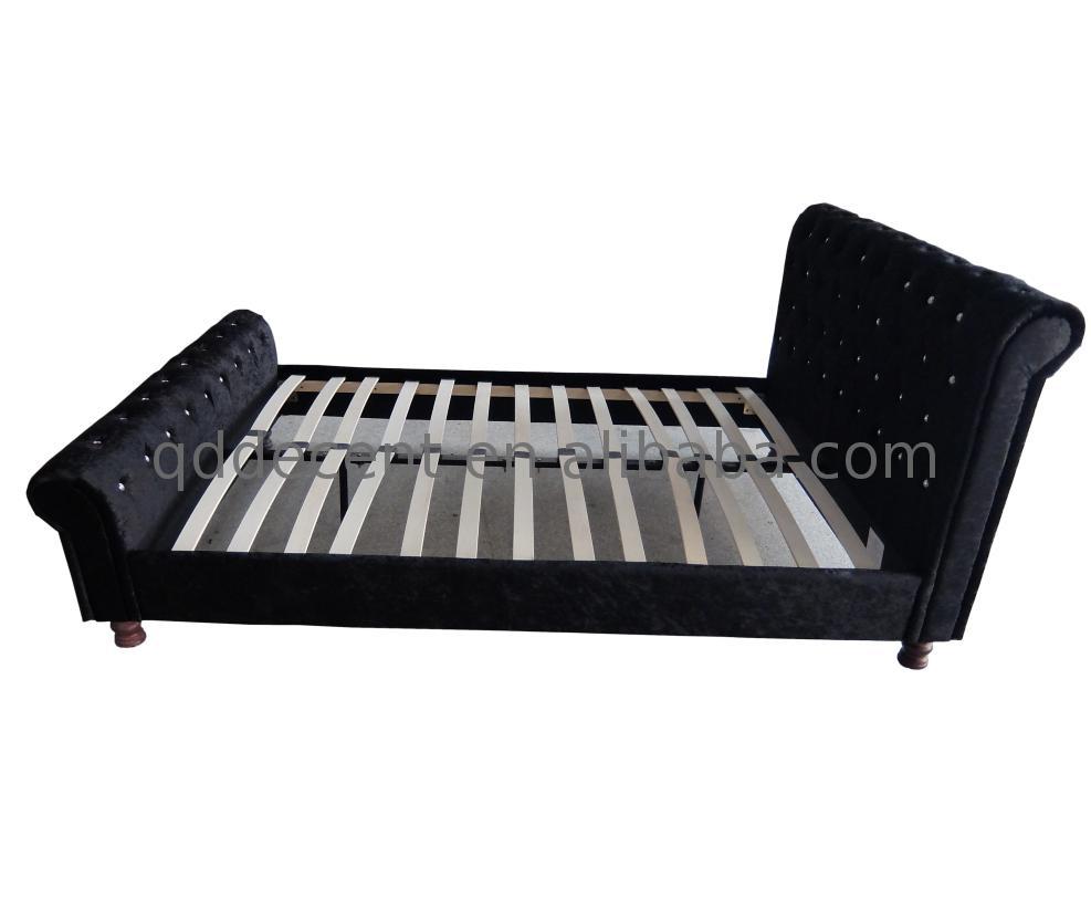 Finden Sie Hohe Qualität Weißem Samt Bett Hersteller und Weißem Samt ...
