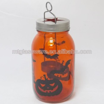 wholesale clear glass hurricane lamps and lantern with christmas decor