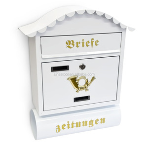 high quality decorative outdoor mailbox