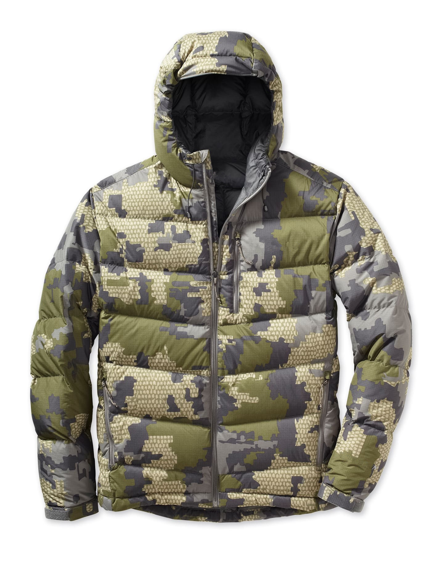 New Design Folding Puffy Down Jacket Lightweight Camouflage Down Jacket